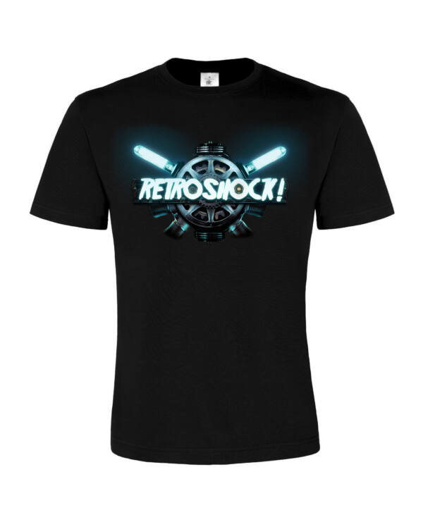 Retroshock - Retronome férfi póló
