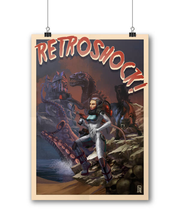 Retroshock Filmszínház poszter